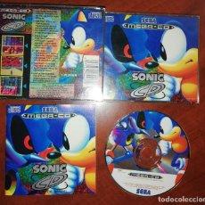 Videojuegos y Consolas: SONIC CD JUEGO PARA SEGA MEGA CD MEGACD PAL COMPLETO EN EXCELENTE ESTADO. Lote 230524490
