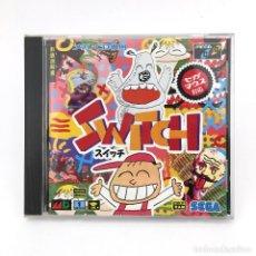 Videojuegos y Consolas: SWITCH PANIC ! SEGA MEGA-CD DRIVE MD GENESIS RETRO スイッチ SUITCHI JAPAN WORKING / JUEGO FUNCIONANDO OK. Lote 231072920