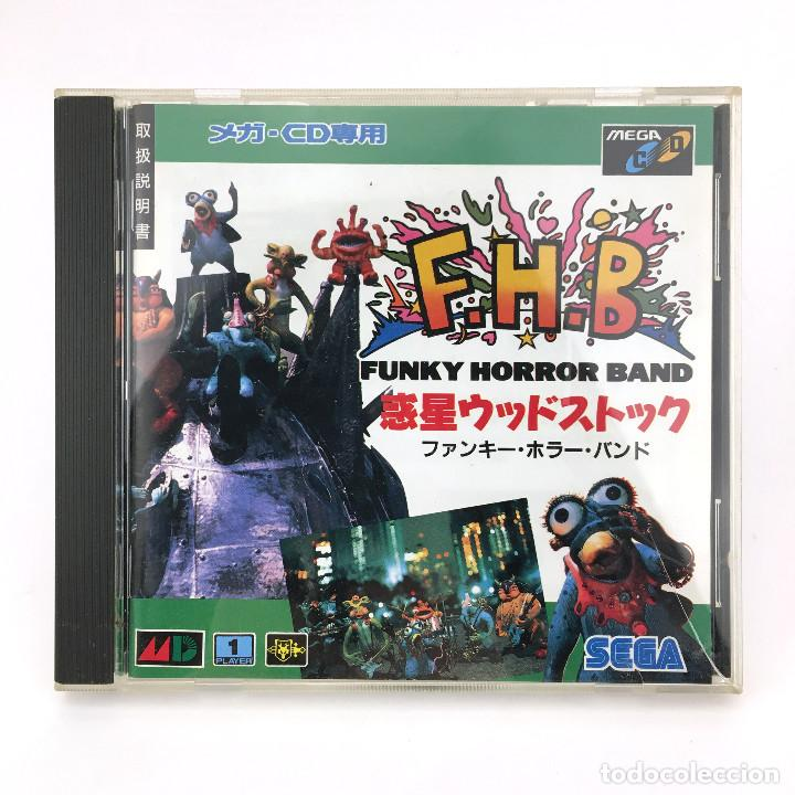 FUNKY HORROR BAND SEGA MEGA-CD F.H.B FHB WAKUSEI WOODSTOCK DRIVE MD JAP WORKING JUEGO FUNCIONANDO OK (Juguetes - Videojuegos y Consolas - Sega - Mega CD)