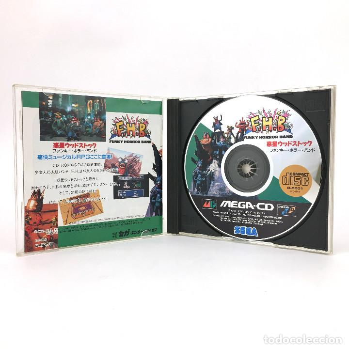 Videojuegos y Consolas: FUNKY HORROR BAND SEGA MEGA-CD F.H.B FHB WAKUSEI WOODSTOCK DRIVE MD JAP WORKING JUEGO FUNCIONANDO OK - Foto 2 - 231073285