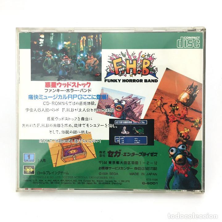 Videojuegos y Consolas: FUNKY HORROR BAND SEGA MEGA-CD F.H.B FHB WAKUSEI WOODSTOCK DRIVE MD JAP WORKING JUEGO FUNCIONANDO OK - Foto 3 - 231073285