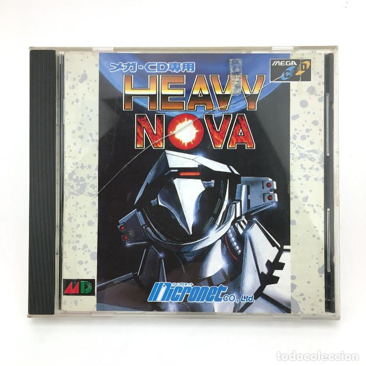HEAVY NOVA SEGA MEGA-CD DRIVE MD ヘビーノバ RETRO VIDEO GAMING VINTAGE JAPAN WORKING JUEGO FUNCIONANDO OK (Juguetes - Videojuegos y Consolas - Sega - Mega CD)