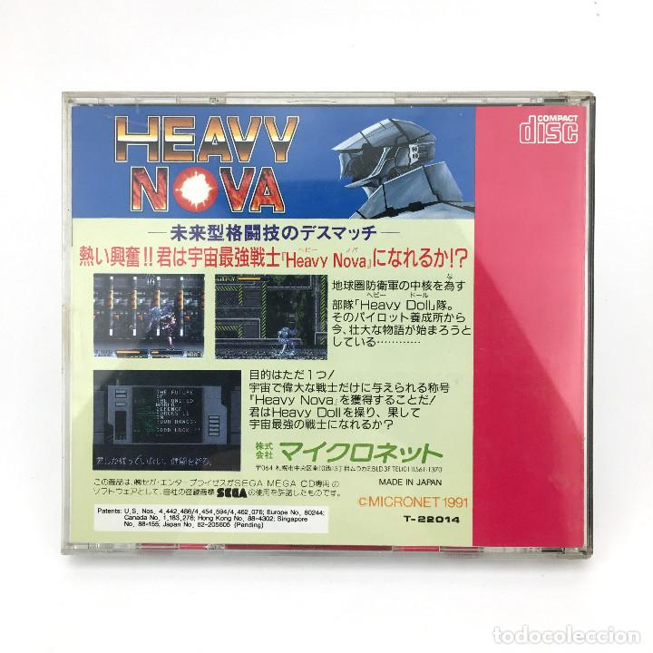Videojuegos y Consolas: HEAVY NOVA SEGA MEGA-CD DRIVE MD ヘビーノバ RETRO VIDEO GAMING VINTAGE JAPAN WORKING JUEGO FUNCIONANDO OK - Foto 3 - 231073370