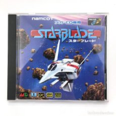 Videojuegos y Consolas: STAR BLADE + SPINE CARD SEGA MEGA-CD スターブレード DRIVE MD RETRO GAMING JAPAN WORKING JUEGO FUNCIONANDO !. Lote 231073470