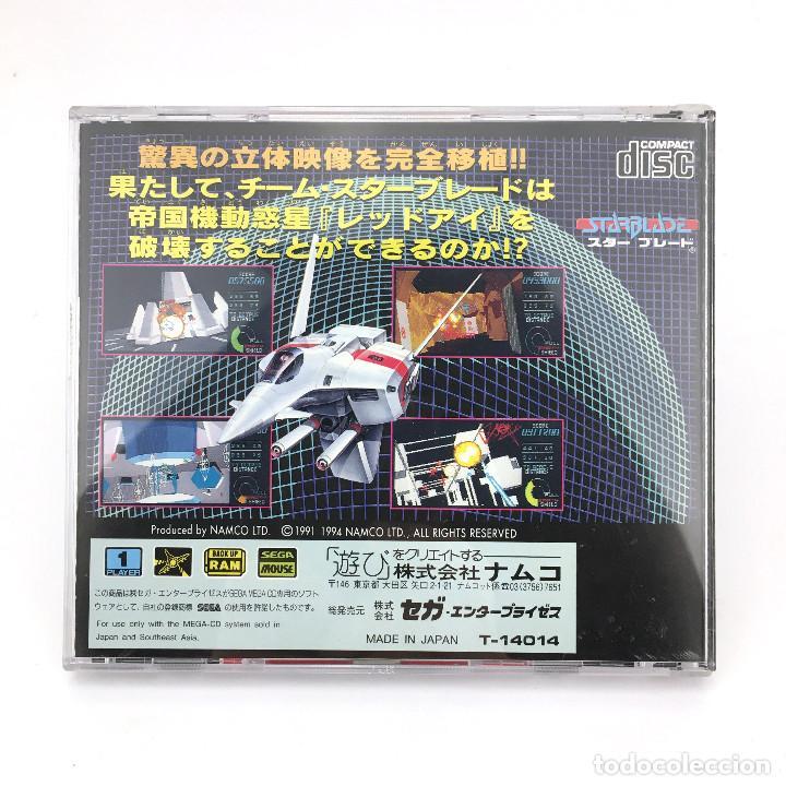 Videojuegos y Consolas: STAR BLADE + SPINE CARD SEGA MEGA-CD スターブレード DRIVE MD RETRO GAMING JAPAN WORKING JUEGO FUNCIONANDO ! - Foto 3 - 231073470