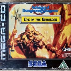 Videojuegos y Consolas: ADVANCED DUNGEONS & DRAGONS EYE OF THE BEHOLDER MEGA CD COMPLETO PAL EUROPA. Lote 232450040