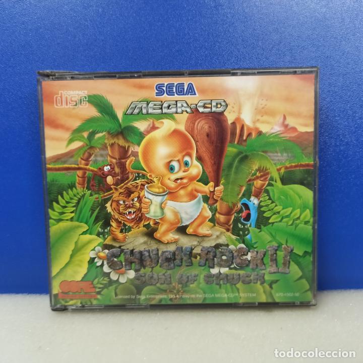 JUEGO CONSOLA SEGA MEGA CD MEGACD CHUCK ROCK II SON OF CHUCK (Juguetes - Videojuegos y Consolas - Sega - Mega CD)