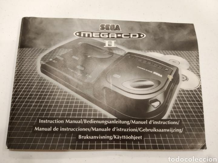 MANUAL SEGA MEGA CD (Juguetes - Videojuegos y Consolas - Sega - Mega CD)