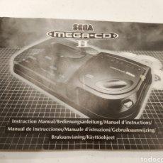 Videojuegos y Consolas: MANUAL SEGA MEGA CD. Lote 233057215