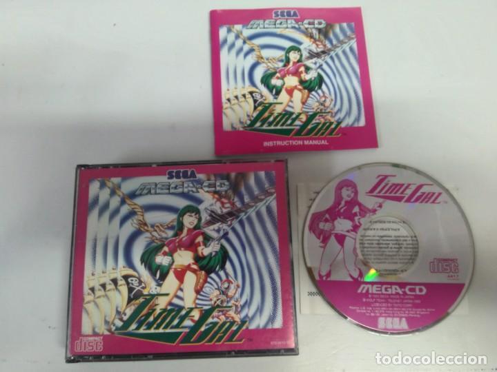 TIME GAL SEGA MEGA-CD OTROS JUEGOS (Juguetes - Videojuegos y Consolas - Sega - Mega CD)