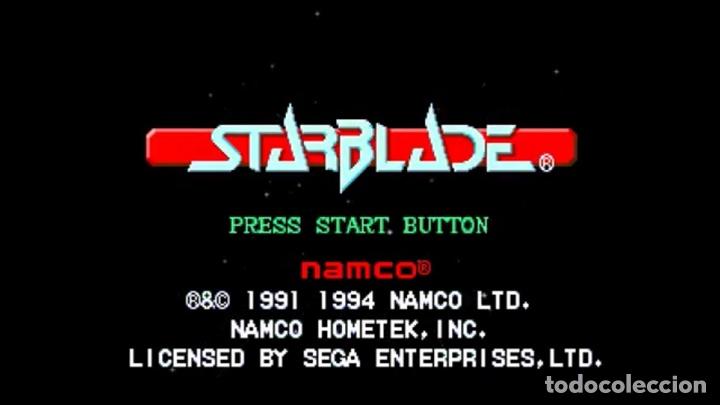 Videojuegos y Consolas: StarBlade [Namco] 1994 [SEGA CD] [PAL] [SECAM] MegaCD System 21 Polygonizer - Foto 5 - 44955157