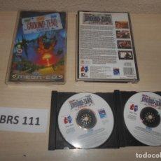 Videojuegos y Consolas: MEGA CD - GROUND ZERO TEXAS , PAL ESPAÑOL , COMPLETO. Lote 240918210