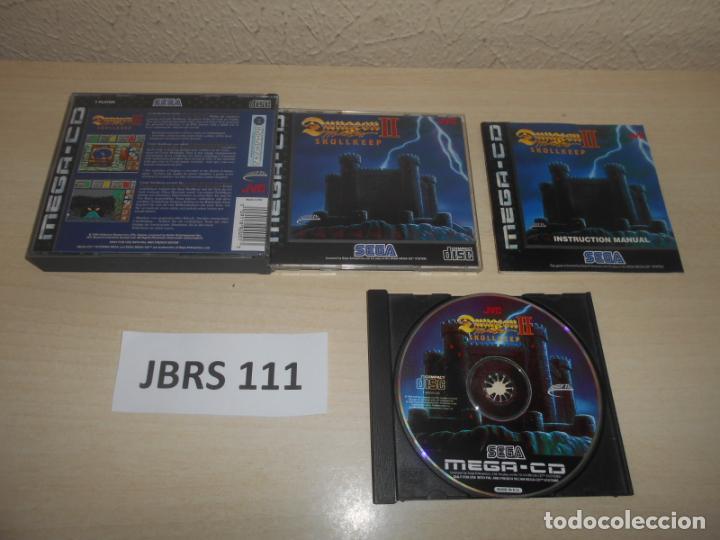 MEGA CD - DUNGEON III SKULLKEEP , PAL ESPAÑOL , COMPLETO (Juguetes - Videojuegos y Consolas - Sega - Mega CD)