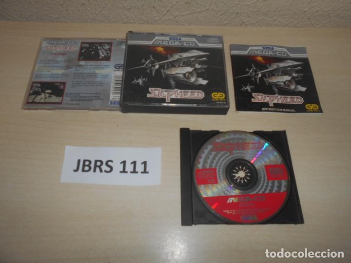 MEGA CD - SILPHEED , PAL ESPAÑOL , COMPLETO (Juguetes - Videojuegos y Consolas - Sega - Mega CD)