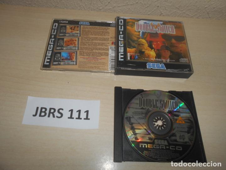 MEGA CD - DOUBLE SWITCH , PAL ESPAÑOL , SIN INSTRUCIONES (Juguetes - Videojuegos y Consolas - Sega - Mega CD)