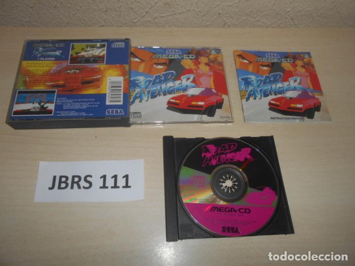 MEGA CD - ROAD AVENGER , PAL ESPAÑOL , COMPLETO (Juguetes - Videojuegos y Consolas - Sega - Mega CD)