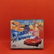 Videojuegos y Consolas: ROAD AVENGER MEGA CD PAL COMPLETO. Lote 241456020