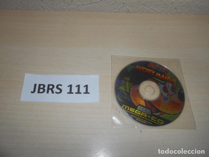 MEGA CD - MICKEY MANIA , PAL ESPAÑOL , SOLO DISCO (Juguetes - Videojuegos y Consolas - Sega - Mega CD)