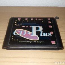 Videojuegos y Consolas: CARTUCHO CD + PLUS MEGA CD ADAPTADOR UNIVERSAL MUY DIFÍCIL DE CONSEGUIR. Lote 243241945