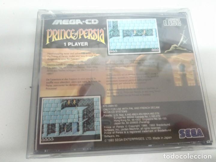 Videojuegos y Consolas: PRINCE OF PERSIA PARA SEGA MEGA-CD ENTRE Y MIRE MIS OTROS JUEGOS! - Foto 2 - 245949365