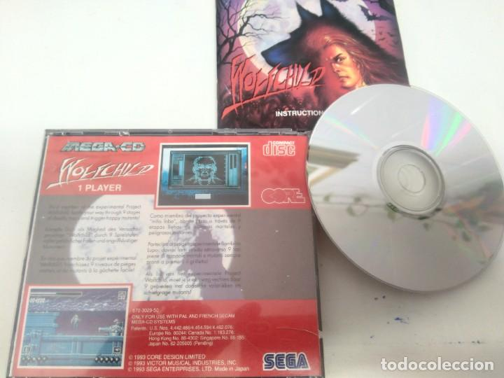 Videojuegos y Consolas: WOLFCHILD PARA SEGA MEGA-CD SONY ENTRE Y MIRE MIS OTROS JUEGOS! - Foto 2 - 247073175