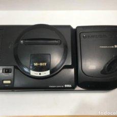 Videojogos e Consolas: CONSOLA SEGA MEGA DRIVE + MEGA CD II. Lote 250228220
