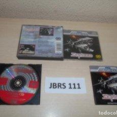 Videojuegos y Consolas: MEGA CD - SILPHEED , PAL ESPAÑOL , COMPLETO. Lote 262047345