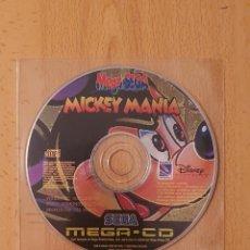 Videojuegos y Consolas: JUEGO MICKEY MANIA PARA MEGA CD DEMO DE REVISTA MEGA SEGA. Lote 262121540