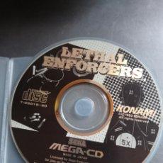 Videojuegos y Consolas: LETHAL ENFORCERS MEGA CD. Lote 267534819