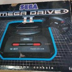 Videojuegos y Consolas: SEGA MEGA DRIVE 2 (EN CAJA) + MEGA CD 2 + 11 JUEGOS EN CD. Lote 269385723