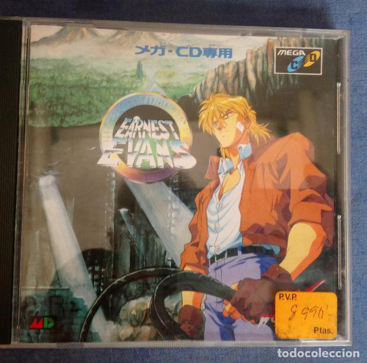 EARNEST EVANS -SEGA MEGA CD JAPONÉS (Juguetes - Videojuegos y Consolas - Sega - Mega CD)