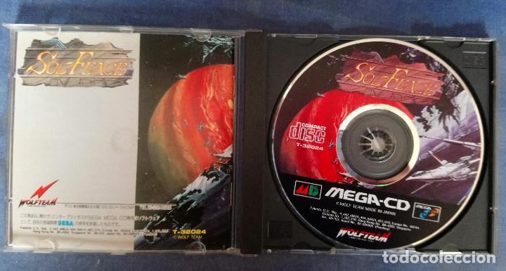 SOL FACE -SEGA MEGA CD JAPONÉS (Juguetes - Videojuegos y Consolas - Sega - Mega CD)