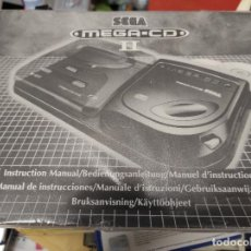 Videojuegos y Consolas: MANUAL SEGA MEGA CD MEGACD. Lote 281018093