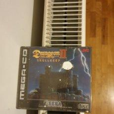 Videojogos e Consolas: JUEGO SEGA MEGA CD DUNGEON II CON INSTRUCCIONES. Lote 283490813