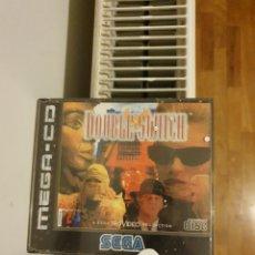 Videojuegos y Consolas: JUEGO SEGA MEGA CD DOUBLE SWITCH CON INSTRUCCIONES. Lote 283490908