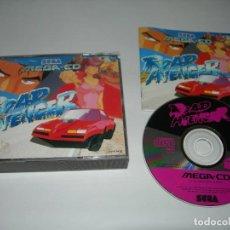 Videojuegos y Consolas: JUEGO ROAD AVENGER PARA CONSOLA SEGA MEGA CD COMPLETO CON SU CAJA E INSTRUCCIONES ORIGINALES. Lote 284535768