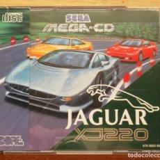Videojuegos y Consolas: JAGUAR XJ220 MEGA CD PAL ESPAÑA NUEVO DESPRECINTADO. Lote 286800308