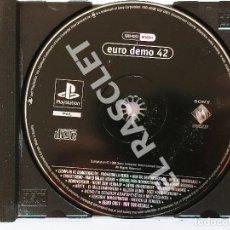 Videojuegos y Consolas: CD PLAYSTATION: EURO DEMO 42 - DISCO CON CARATULA SIN CAJA ORIGINAL. Lote 296865383