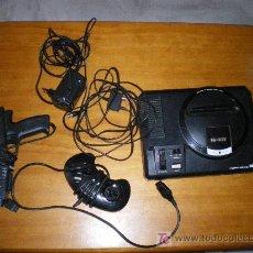 Videojuegos y Consolas: ANTIGUA VIDEOCONSOLA MEGA DRIVE DE SEGA 16 BIT, FUNCIONA CORRECTAMENTE . Lote 20003077