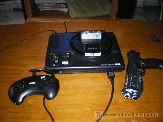 Videojuegos y Consolas: antigua videoconsola mega drive de sega 16 bit, funciona correctamente - Foto 5 - 20003077