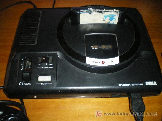 Videojuegos y Consolas: antigua videoconsola mega drive de sega 16 bit, funciona correctamente - Foto 4 - 20003077