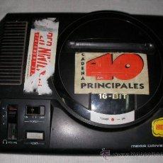 Videojuegos y Consolas: ANTIGUA CONSOLA MEGADRIVE SEGA. Lote 20700970