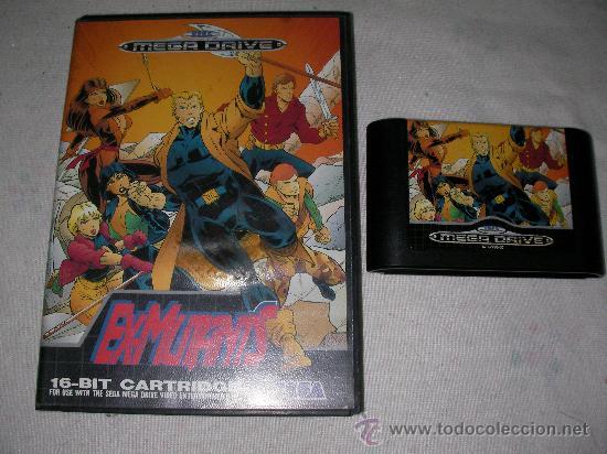 MEGADRIVE JUEGO EX-MUTANTS (Juguetes - Videojuegos y Consolas - Sega - MegaDrive)