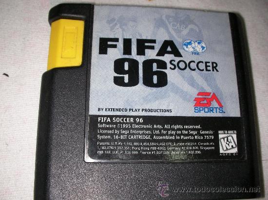 Juego Para Sega Genesis Y Mega Drive Fifa 96 So Comprar