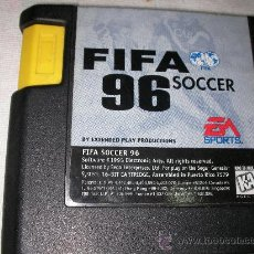 Videojuegos y Consolas: JUEGO PARA SEGA GENESIS Y MEGA DRIVE FIFA 96 SOCCER. Lote 21557513