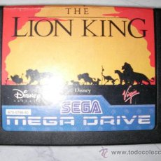 Videojuegos y Consolas: ANTIGUO JUEGO SEGA MEGADRIVE THE LION KING. Lote 23004475