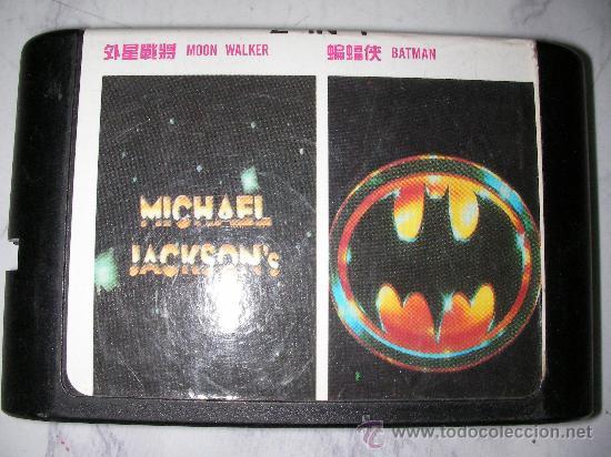 JUEGO MEGA DRIVE MICHAEL JACKSON (MOON WALKER) Y BATMAN (Juguetes - Videojuegos y Consolas - Sega - MegaDrive)