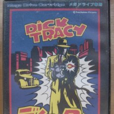Videojuegos y Consolas: VIDEO JUEGO SEGA MEGADRIVE - JAPAN - DICK TRACY ¡¡¡COMPLETO ¡¡¡ MEGA DRIVE. Lote 23462663
