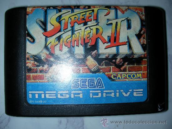 JUEGO MEGA DRIVE STREET FIGHTER II (Juguetes - Videojuegos y Consolas - Sega - MegaDrive)