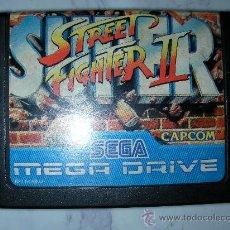 Videojuegos y Consolas: JUEGO MEGA DRIVE STREET FIGHTER II. Lote 24093616